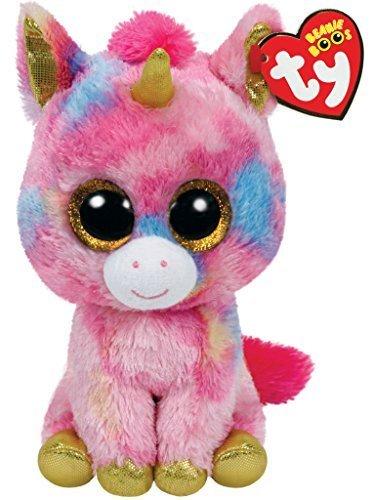TY Beanie Boos - FANTASIA the Unicorn (Glitter Eyes) (LAR...