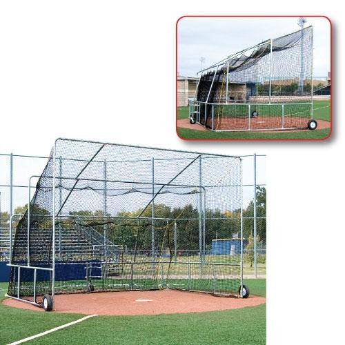 Portable Backstop Cage (Athletic Connection Portable Batting Cage)