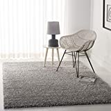 Safavieh California Premium Shag Collection SG151-7575 Silver Area Rug (8' x 10')