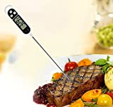 Digital Cooking Food Probe,Thing-ning Meat Food Selectable Sensor Thermometer Kitchen Cooking Food Probe BBQ Cooking Heat Indicator - Kitchen Meat Thermometer (White)