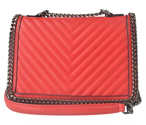 Francuir Selection Crossed Womens Synthetic Bag 28 X 20 X 12 Red