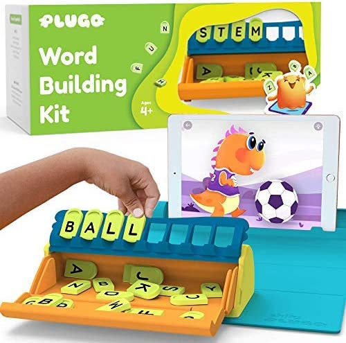 Plugo Letters by PlayShifu - Word Building with Phonics, Stories, Puzzles