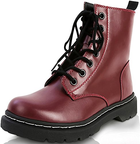 Marco Republic Navigator Womens Military - Red Lace Up Boots Shopping Results
