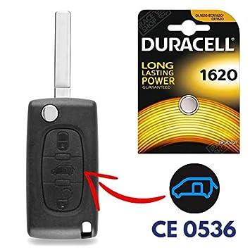 Carcasa llave caja de mando a distancia Jongo Peugeot ...
