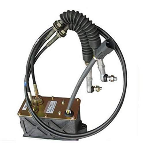 Holdwell Throttle Motor 247-5231 for Caterpillar 320B 312B Excavator Parts with 6 Cable