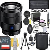 Sony Vario-Tessar T FE 24-70mm f/4 ZA OSS Full Frame E-Mount Prime Lens + Deluxe Lens Bundle