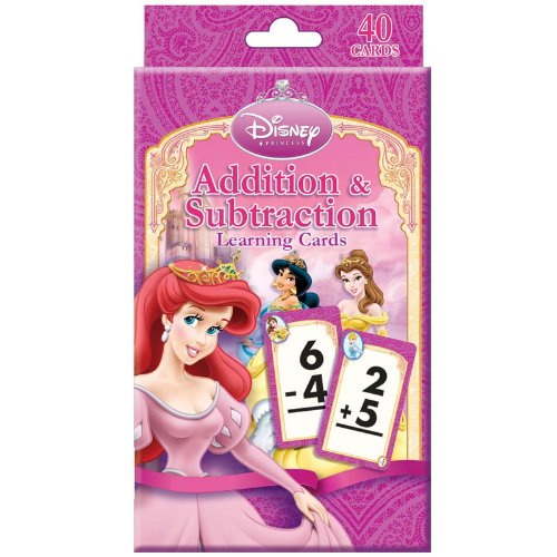Bendon Publishing 204348 Disney Princess Addition and Subtra