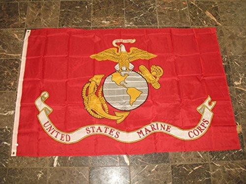 4X6 Usmc Marine Marines Premium Quality Flag 4'X6' House Banner by Decorative Flag
