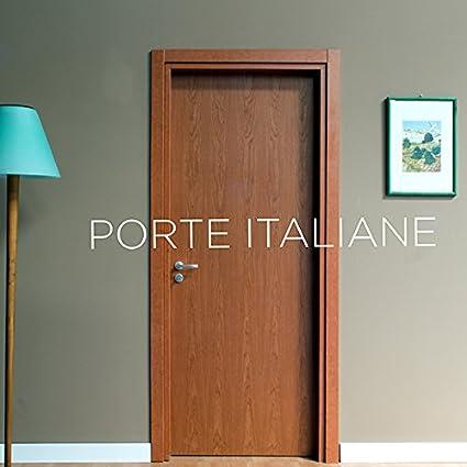 Porte interne Ciliegio - compreso telaio e mostrine (70x210 Sinistra ...