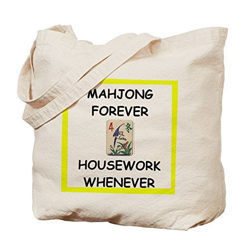 CafePress Unique Design mahjong joke Tote Bag - Standard Multi-color by CafePress