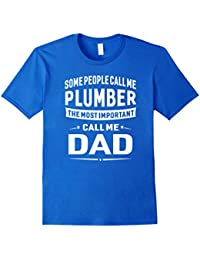 Plumber Dad T-shirt For Men Father Great Gift Idea
