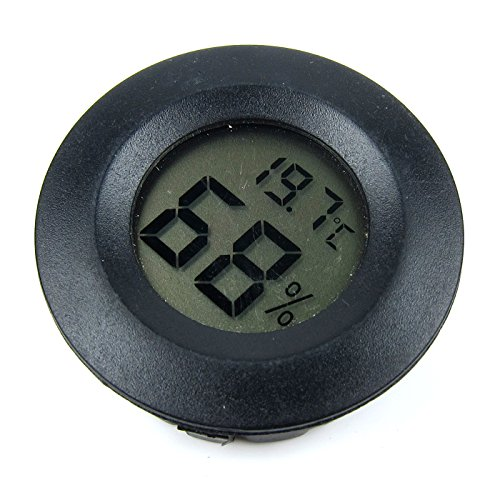 Alfie Pet by Petoga Couture - Misha Digital Thermometer and Hygrometer - Color: Black ()