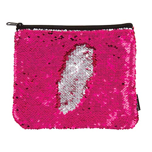 - Style.Lab by Fashion Angels Magic Sequin Pouch - Pink/Silver