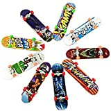 Mini Fingerboards, 5Pcs Finger Skateboard Matte Surface Random color