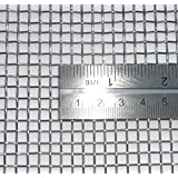 Woven Wire Mesh, 5 mesh (Stainless Steel 316L) – 4.1mm Aperture – By Inoxia Cut Size: 30cmx30cm