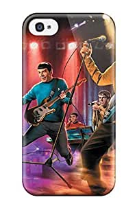 YY-ONE The Star Trek Band Phone Case For Iphone 4/4s/ High Quality Tpu Case