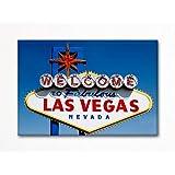 Welcome to Fabulous Las Vegas Nevada Famous Sign Fridge Magnet