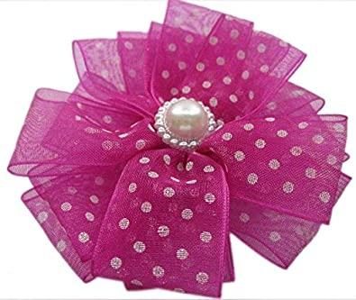 699ec3e581 Unique Indian Crafts Pink Plastic And Fabric Handmade Ribbon Work Tic Tac  Pin For Girls And women: Amazon.in: Jewellery
