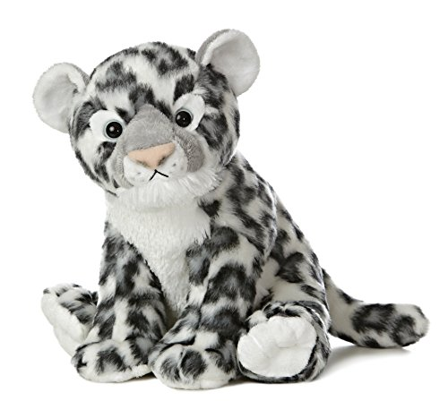 Aurora World Destination Nation Plush, Snow Leopard Plush Snow