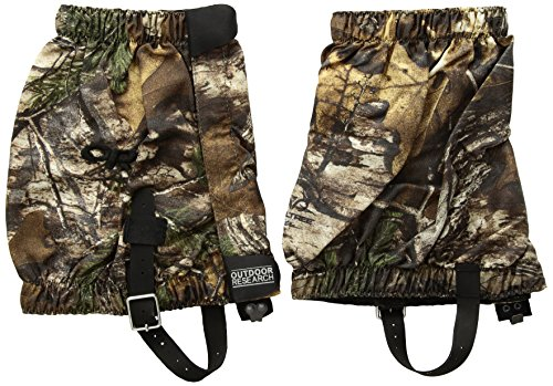 Outdoor Research Bugout Real Tree Gaiters, Realtree Xtra, X-Large (Realtree Mountain Boot)