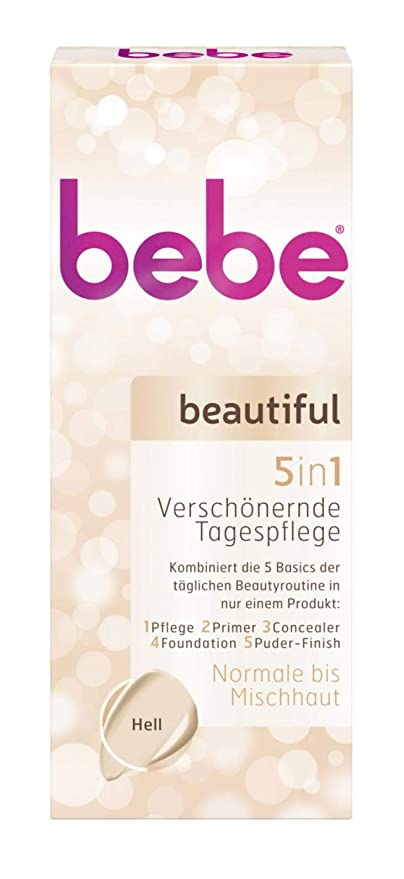 3 x bebe beautiful Embellecedor Day Care 5in1 Bright cada 50ml