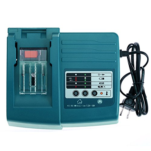 DC18RC Rapid Fast Lithium-Ion Battery Charger For BL1830 18V DC18RA US Plug, Dark Green