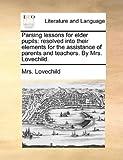 Parsing Lessons for Elder Pupils, Lovechild, 1140742507