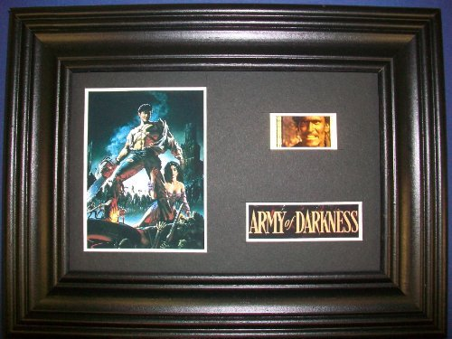 ARMY OF DARKNESS Framed Film Cell Display Collectible Movie Memorabilia