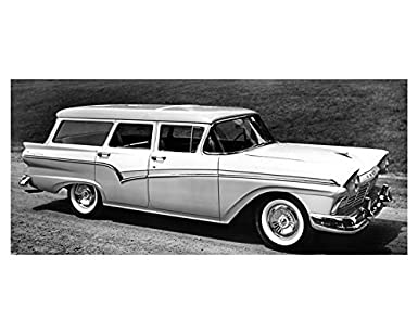 Amazon com: 1957 Ford Country Sedan Station Wagon Factory