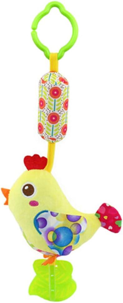 vert Oiseau ODN B/éb/é mignon en peluche dactivit/é pour poussette b/éb/é Jouets en peluche /à suspendre avec animal d/ésign