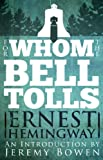 Front cover for the book For Whom the Bell Tolls by Ernest Hemingway