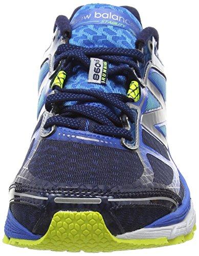 Shoes Balance Running Bleu Men 860v5 Noir New wt7fd1q1g