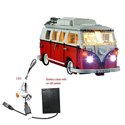Futureshine Light Set for (Creator Series Volkswagen T1 Camper Van) Building Blocks Model - Led Light kit Compatible with Lego 10220(NOT Included The Model): Home & Kitchen