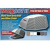 Maxxair 00-933075 MaxxAir II Black Vent Cover