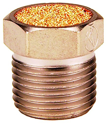 Dixon 1'' Nickel Plated Steel Breather Vent, Max Operating Pressure 150psi (ASP-8BV)