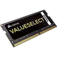 Corsair CMSO8GX4M1A2133C15 Value Select 8GB (1x8GB) DDR4 2133Mhz CL15, Noir