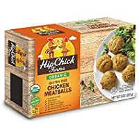 Hip Chick Farms Organic Gluten Free Chicken Meatballs, 8