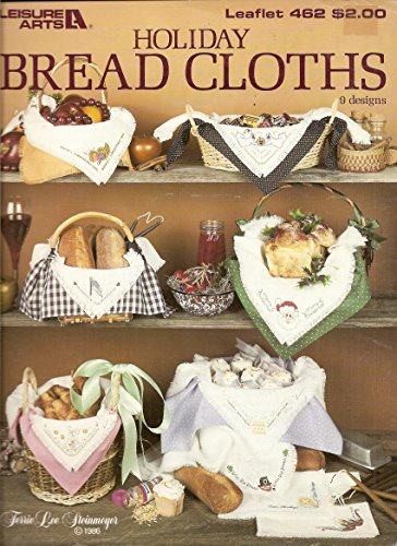 Leisure Arts Holiday Bread Cloths (Bread Cloth Cross Stitch Patterns)