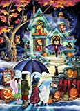 Fright Night Halloween Jigsaw Puzzle 1000 Piece White
