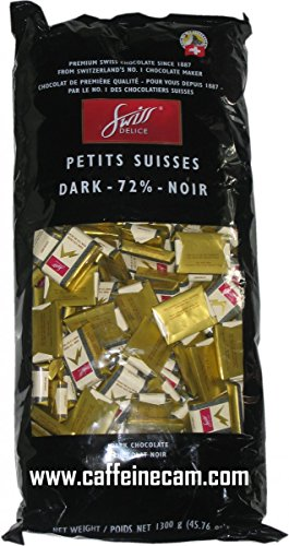 Swiss Delice Dark Chocolate 72% - 1300g