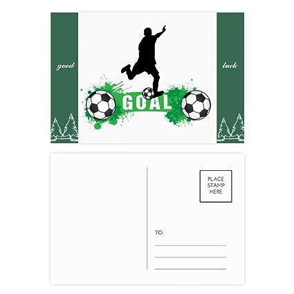 DIYthinker Pena del fútbol del fútbol texto de los deportes Buena ...