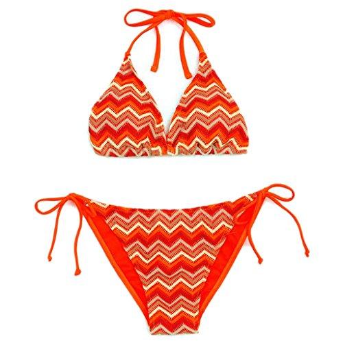 Traje de baño de las señoras Bikini reticulado Split traje de baño de señora traje de baño traje de baño de playa caliente traje de baño Bikini A