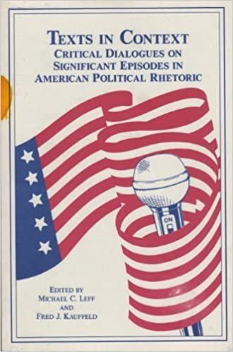 Texts in Context: Critical Dialogues on Significant Episodes in American Political Rhetoric (1995-11-03)