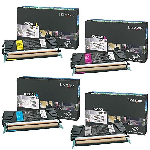 Lexmark C524 Standard Yield Toner Cartridge Set