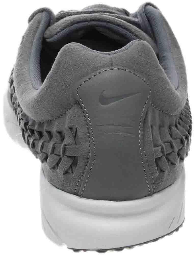 NIKE Men's Mayfly Woven Casual Shoe B00CUAZ9GI 7.5 D(M) US Cool Grey White Black 004
