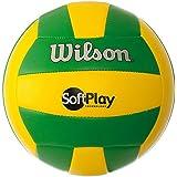 Bola De Vôlei Softplay Verde e Amarela Wilson - WTH3501XBGRY d85c9c8f05d2d