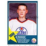 Jay Bouwmeester Hockey Card 2011 Quebec Pee-Wee Danone #1 Jay Bouwmeester