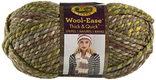 Lion Brand Yarn Wool-Ease Thick & Quick Yarn, Urban - Camo Yarn