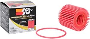 K&N Premium Oil Filter: Designed to Protect your Engine: Fits Select TOYOTA and LEXUS Vehicle Models (See Product Description for Complete Fitment Information) HP-7021