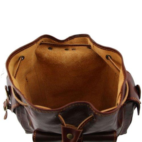 Cerdo Marrón Piel Para Mujer Tuscany Hombro De Al Leather Bolso q7pYSz